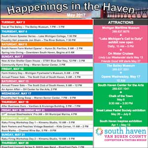 Happenings in the Haven This Week