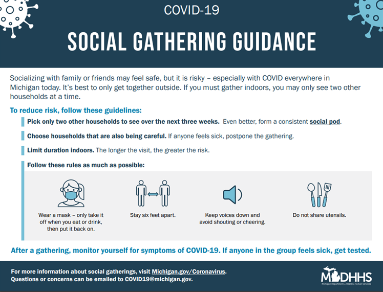 Soical Gathering Guidance