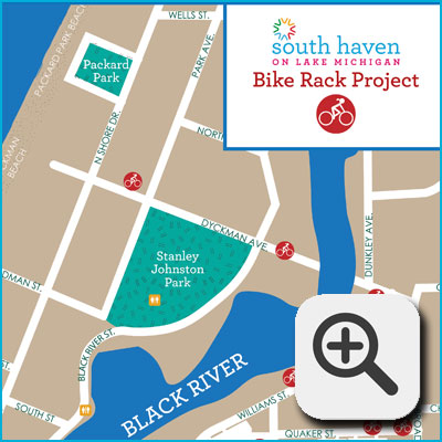 South Haven Bike Rack Project
