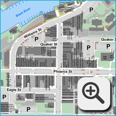 Downtown Businesses Map