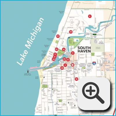 Attractions and Amenities Map