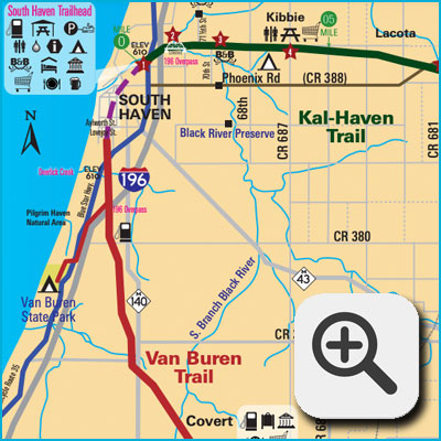 Bike Routes and Trails Map